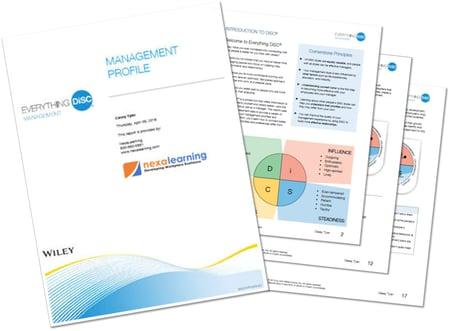 Leap2Leadership - Module 2 - Management Profile