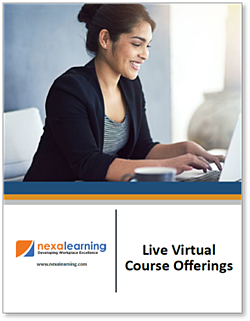 Live Virtual Course Offerings -NexaLearning