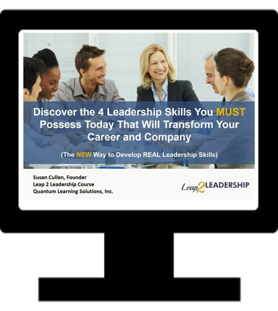 Discover the 4 Leadership Skills You Must Possess Today - Leadership Webinar