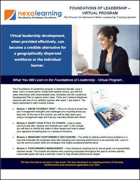 Foundations of Leadership - Virtual Program - Course Flyer - October 2018.jpg