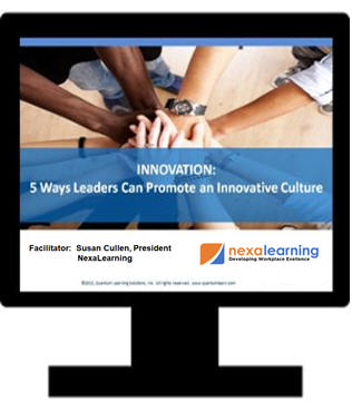 Innovation-5 Ways Leaders Can Promote an Innovate Culture - NexaLearning