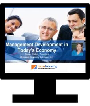 Management Development in Today's Economy