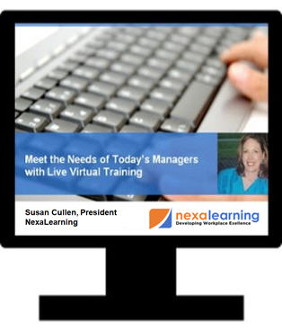 Meet the Needs of Today's Managers with Live Virtual Training